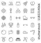 thin line vector icon set  ... | Shutterstock .eps vector #1182214066