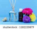 air diffuser  essential oill ... | Shutterstock . vector #1182220879