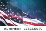 Creative American Flag With...