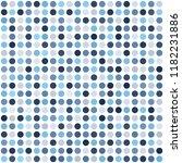 polka dot pattern. seamless... | Shutterstock .eps vector #1182231886