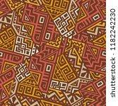 geometric seamless pattern... | Shutterstock .eps vector #1182242230