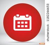 calendar icon vector 10 eps...
