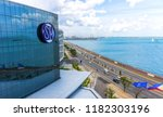 cebu city  philippines   august ... | Shutterstock . vector #1182303196