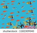 great reef australia | Shutterstock .eps vector #1182309040