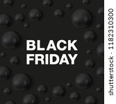 black friday banner template.... | Shutterstock .eps vector #1182310300
