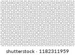 1000 white puzzles pieces... | Shutterstock .eps vector #1182311959