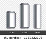 3d can mockup. vector aluminium ... | Shutterstock .eps vector #1182322306