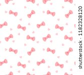 seamless pattern with pink... | Shutterstock .eps vector #1182328120