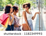 sale  consumerism and people... | Shutterstock . vector #1182349993