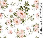 seamless vintage background... | Shutterstock . vector #1182398656