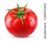Tomato. Tomato With Drops...