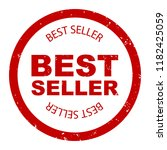 best seller simple stamp round. ... | Shutterstock . vector #1182425059