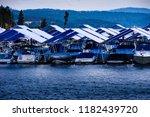 lake coeur d alene  id sept 8 ... | Shutterstock . vector #1182439720