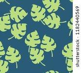 leaves pattern. simple leaves... | Shutterstock .eps vector #1182440569
