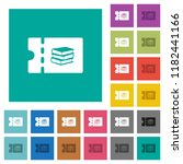 bookstore discount coupon multi ... | Shutterstock .eps vector #1182441166