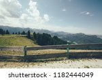 mountains in the alps in... | Shutterstock . vector #1182444049