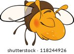 bee. cartoon | Shutterstock .eps vector #118244926
