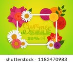 sale banner template. summer... | Shutterstock .eps vector #1182470983