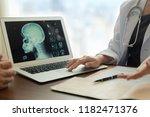 medicine and healthcare concept.... | Shutterstock . vector #1182471376
