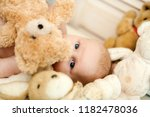 childhood and innocence concept.... | Shutterstock . vector #1182478036