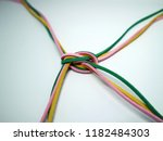 totally entangled  twisted pan...   Shutterstock . vector #1182484303