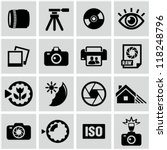 photo icons | Shutterstock .eps vector #118248796