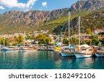 kas  turkey   september 11 ... | Shutterstock . vector #1182492106