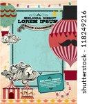 Vintage Fun Fair Template...
