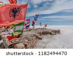 salar de uyuni  bolivia  march...   Shutterstock . vector #1182494470