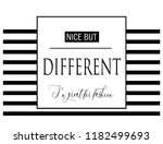 nice but different slogan for t ... | Shutterstock .eps vector #1182499693