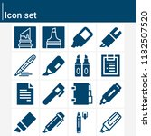 contains such icons as marker ... | Shutterstock .eps vector #1182507520