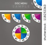 disc menu interface color and...