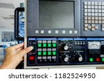 close up of the control panel... | Shutterstock . vector #1182524950