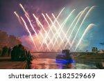 vilnius  lithuania   july 06 ... | Shutterstock . vector #1182529669