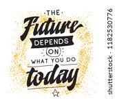 inspirational quote  motivation.... | Shutterstock .eps vector #1182530776