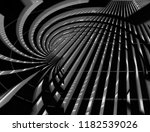 fish eye photo of lath ceiling. ... | Shutterstock . vector #1182539026