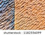 abstract design concrete wall... | Shutterstock . vector #1182556099