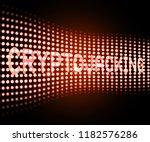 cryptojacking crypto attack... | Shutterstock . vector #1182576286