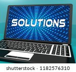 cyber security solutions threat ... | Shutterstock . vector #1182576310