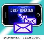 email drip marketing newsletter ... | Shutterstock . vector #1182576493