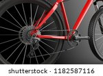 bicycle background. bike.3d... | Shutterstock . vector #1182587116