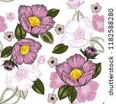 botanical motifs. isolated... | Shutterstock .eps vector #1182588280