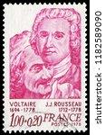 836 paris  france   1978 ... | Shutterstock . vector #1182589090