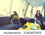 startup business people group... | Shutterstock . vector #1182607003