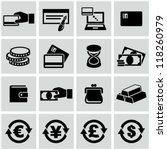 money icons set | Shutterstock .eps vector #118260979