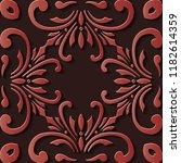 seamless relief sculpture... | Shutterstock .eps vector #1182614359