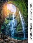 Madakaripura Waterfall Is The...