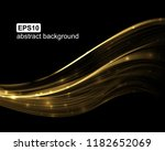 abstract light wave futuristic... | Shutterstock .eps vector #1182652069