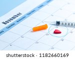 diabetes concept. world... | Shutterstock . vector #1182660169