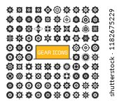 gear and cog icons set ... | Shutterstock .eps vector #1182675229